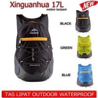 tas lipat gunung outdoor 17L waterproof
