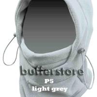 promo!! grosir masker polar fleece 10pcs (balaclava thermal 6 in 1