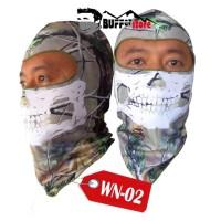 balaclava full face kualitas premium (skull masker, motorcycle,