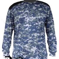 kaos army panjang navy militer (camo panjang, tentara, tni)