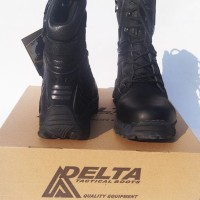 sepatu delta force army militer warna hitam