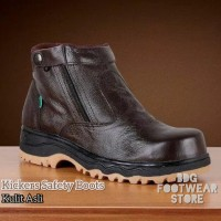 Sepatu Safety Boots Kickers Byson Leather