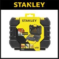 Stanley 50 pcs Accessories set | Mata Bor Mata Obeng set- [Flash Sale]