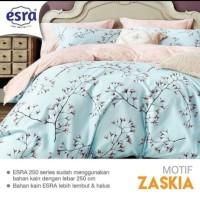 Sprei Esra Zaskia Biru 120 tinggi 40