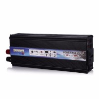 TERMURAH Rectangle Car Inverter Power DC 12Volts to AC 220V 2000Watt