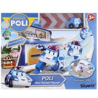 ROBOCAR POLI - MINI POCKET PLAYSET POLI - ORIGINAL