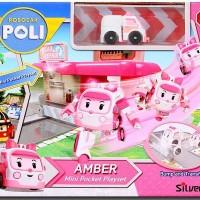 ROBOCAR POLI - MINI POCKET PLAYSET AMBER - ORIGINAL