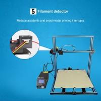 Cr-10 S500 Printer 3D Ukuran Besar dengan Filament Detector un