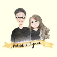 Jasa Ilustrasi Foto Wajah Couple [ADD ON]