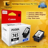 Cartridge Original Canon Small PG-745s PG745s 745 Black