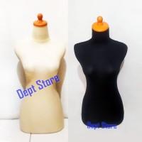 Manekin Bodi Cewek Dewasa DM Kain | Patung Display Cewek | Patung Kaos