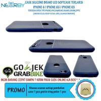 Paling Murah Iphone 6G 6S Case Brand LED Flash Softcase Hp Berkualitas