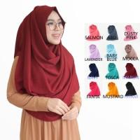Pashmina Instan Raisa Jilbab Instan Kerudung Murah Hijab Khimar