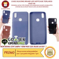 Paling Bagus Termurah Vivo V9 Case LED Flash Softcase Hp Berkualitas
