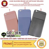 Paling Bagus Termurah Vivo Case V5 LED Flash Softcase Hp Berkualitas