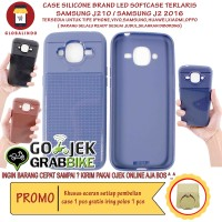Paling Bagus Termurah Samsung J210 J2 2016 Case LED Flash Softcase Hp