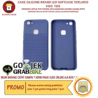 Paling Bagus Termurah Vivo Y83 Case LED Flash Softcase Hp Berkualitas