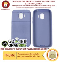Paling Bagus Termurah Samsung J2 Pro Case LED Flash Softcase Hp