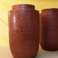 Harga vas kendi tanah liat warna merah corak chinese   Pembandingharga.com