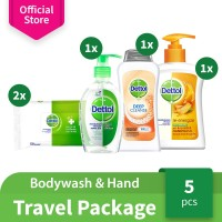 Dettol Paket Travel - Dettol Travel Package