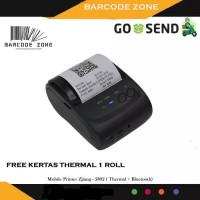 Mobile Printer PPOB / Kasir 58mm Thermal Android (USB+BLUETOOTH)