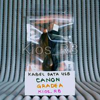 Kabel Cable Data USB Grade A Biasa untuk Kamera Camera DSLR Canon