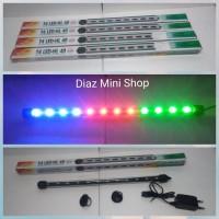 (Diskon) Lampu Celup Aquarium LED HL40 Panjang 40 cm ( 3 Warna )