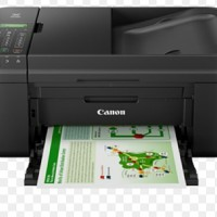 Printer Color Canon Pixma MX497