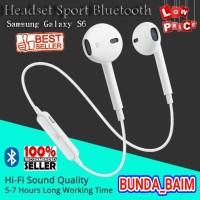 HEADSET BLUETOOTH SAMSUNG S6 HTQ100 / EARPHONES WIRELESS BEST CHOOSE