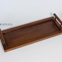 Aira Wooden Tray / Nampan Kayu / Serving Tray /