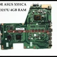 Laptop Motherboard ASUS X551CA Mainboard REV:2.2 SLJ8E HM76 I3-3217U 4