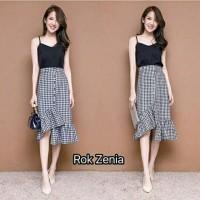 ba33a5b6fb Ruffle Zara Skirt Zara Plaid Rok Zenia Kotak Ruffle Skirt Pj 70