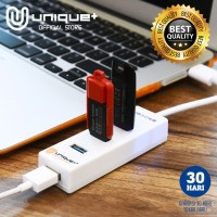 Unique USB HUB 4-Port 3.0 Super Speed Transfer Data Support 2TB