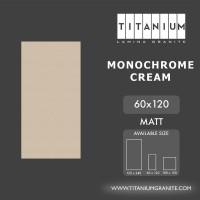 Titanium Granite - MONOCHROME CREAM - MATT - 60x120 - FREE DELIVERY