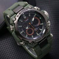 EXCLUSIVE Jam Tangan Pria Sporty CASIO G SHOCK MR G MRG G 1000 Rubber