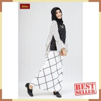 Dannis Baju Muslim Dewasa Sarimbit D'Androgini - Atasan Hitam bawahan