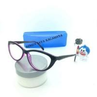 Frame Kacamata Wanita Trendy Kaca mata Anti Radiasi Kacamata M Diskon cc05d3d63d