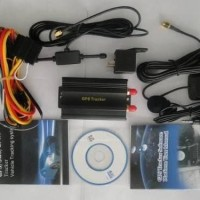 GPS Tracker TK103 Pelacak Kendaraan mobil, alat berat