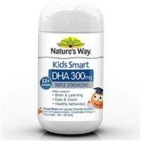 Nature's Way Kids Smart DHA 300mg Triple Stre vitamin nutrisi original