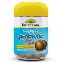 Nature's Way Kids Smart Probiotic Choc Balls vitamin nutrisi original