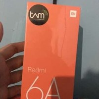 HP Xiaomi Redmi 6A Ram 2GB Internal 16GB Garansi TAM 1 TAHUN