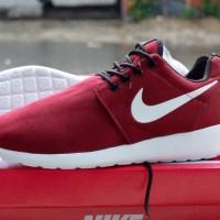 Nike Rosherun Merah Maroon Grade Ori