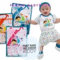 kiddy baby gift set new born 11-162 / paket kado baju bayi baru lahir