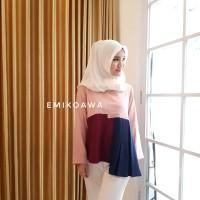 Blouse Blouse 3 Colour - Emikoawa / Atasan / Souvenir / Berkualitas
