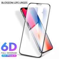 Tempered Glass 6D Iphone X|XR|Xs|Xs max Premium | Iphone X