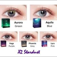 Harga softlens x2 stardust soflens unik terbaru soflen gradiasi warna | antitipu.com