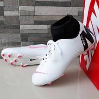 a5ddf47c05b sepatu bola nike mercurial M high white pink black 39-44 import