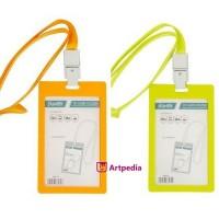 Tempat ID Card Bantex Tali / ID Card Holder Bantex Pakai Tali