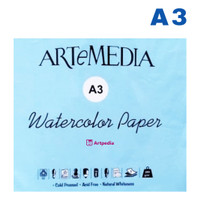 Artemedia Watercolour Paper A3 isi 5 lembar/ Kertas Khusus Cat Air A3