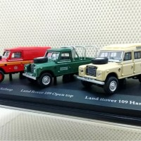 Cararama - Land Rover 109 Softtop - Opentop - Hardtop